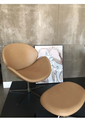 Ogi chair and footstool