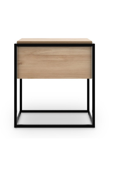 Ethnicraft Oak Monolit bedside table