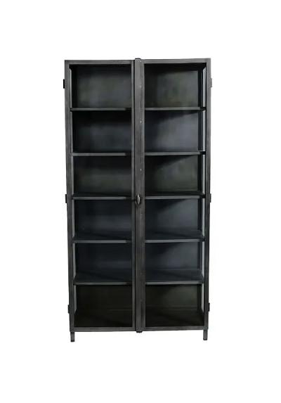 Muubs New York glass cabinet w/2 doors