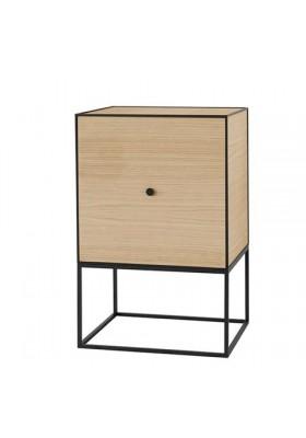By Lassen Frame sideboard, oak incl. door, incl. 1 shelf