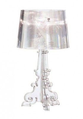 Kartell Bourgie lampara, cristal