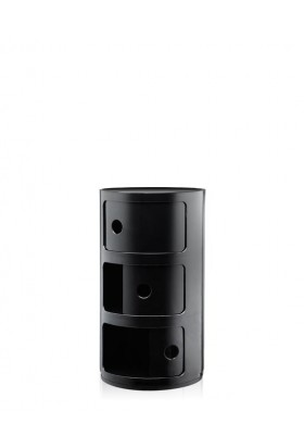 Kartell Componibili 3 door - black