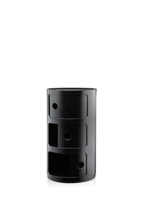 Kartell Componibili 3 door - negro