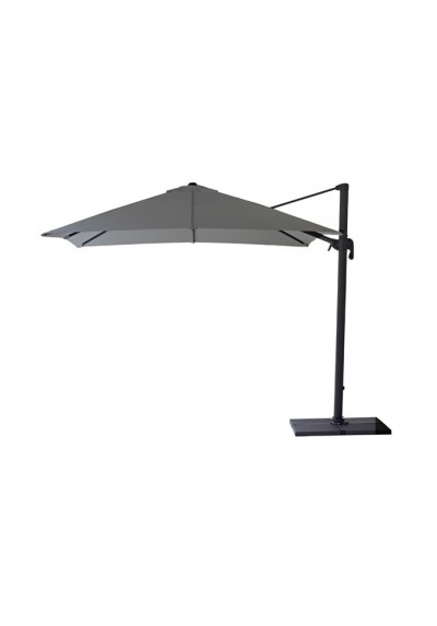 Hyde hanging parasol, 3x3, incl. base