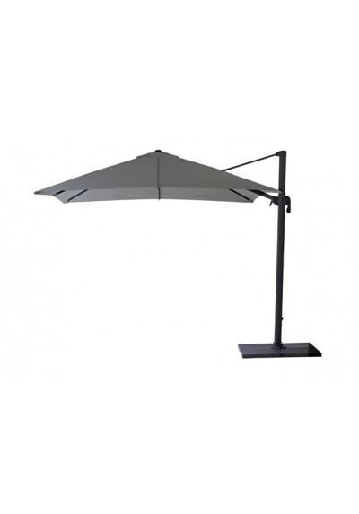 Hyde parasol colgado, 3x3, incl. pie