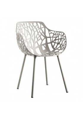 Forest armchair, white