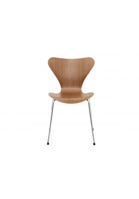 Silla Series 7, Fritz Hansen, madera natural